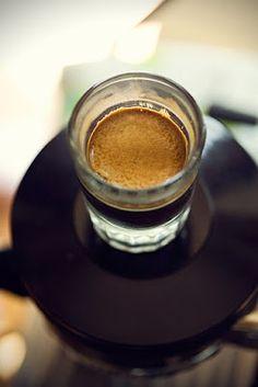 Espresso shot.