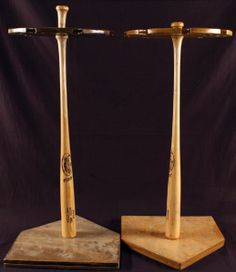 Baseball Bat Displays Base Ball Bat Racks Pinterest