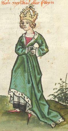 Ms. germ. qu. 12 - Die sieben weisen Meister SchreiberHans <Dirmstein> ErschienenFrankfurt, 1471 Folio 21v