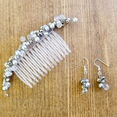 How to make bridal hair accessories- free jewelry tutorials for handmade hairband from pandahall.com by Jersica