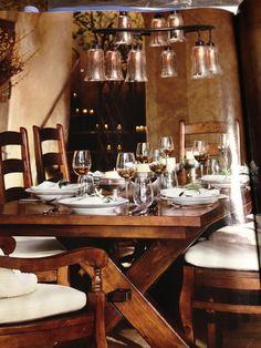Pottery Barn Toscana dining