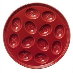 Fiestaware Egg Tray - Scarlet Red