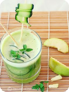 Apple, Mint and Cucumber Cooler! (non-alchoholic)