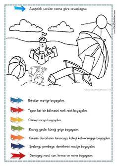 OKUDUĞUNU ANLAMA – Oku – Boya Çalışması 11 - Seyit Ahmet Uzun – Eğitime Yeni Bir Bakış Pre School, Back To School, First Grade Crafts, Turkish Language, How To Know, Kids Learning, Crafts For Kids, Education, Blog
