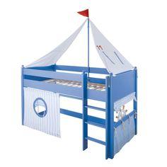 Spielbett mit viel Handarbeit angefertigt. Ikea Toddler Bed, Kura Ikea, Bunk Beds Boys, Easy Projects, Play Houses, Kids Furniture, Kids Bedroom, Elegant, Home Decor