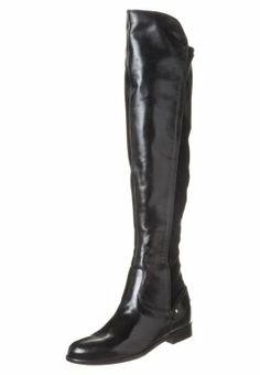 Carvela WOOD - Stivali sopra il ginocchio - nero - Zalando.it 7ef56ac5cbc