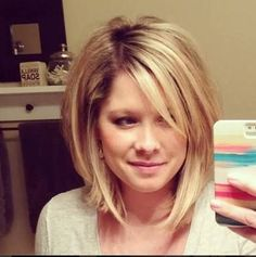 Image result for short to medium length layered bobs