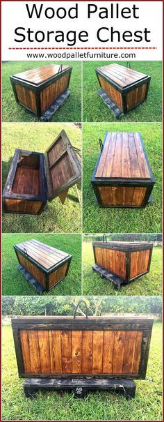 You must have seen a lot of people share images of turning wooden pallet into something amazing that you were highly intrigued to copy. It might seem impossible but hard work and devotion can turn anything possible when you make the right efforts. A storage chest made out of wooden pallet is something that you might enjoy making because it is very interesting and is the best thing that will give you great benefit in the long run.