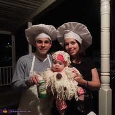 Spaghetti & Meatballs - Halloween Costume Contest via @costumeworks