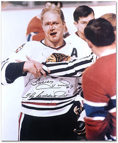 "Mounted Memories Chicago Blackhawks Bobby Hull ""Jet"" Autographed 16x20 Photo - Shop.NHL.com"