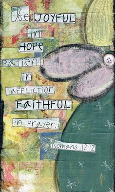Collage angel of joy hope and faith by bettyandmaude on Etsy, $20.00