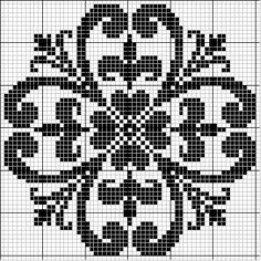 Intricate design - free cross stitch pattern
