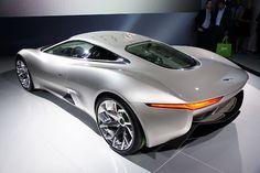 Jaguar CX75 Hybrid Concept.