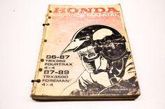 Honda TRX350/D Fourtrax Foreman 4x4 Service Manual | eBay Motors, Parts & Accessories, Motorcycle Parts | eBay!