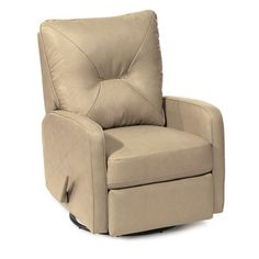 Palliser Furniture Theo Rocker Recliner Upholstery: Bonded Leather - Champion Mink, Leather Type: Bonded Leather, Type: Manual