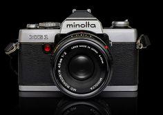 Minolta XG1 - this was my first camera