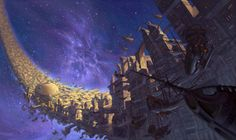 Treasure Planet concept art