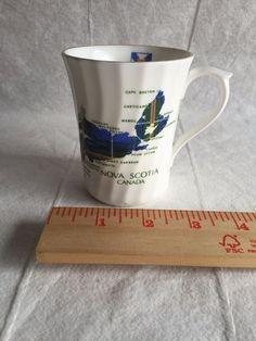 Nova Scotia Tartan Canada Tea Cup Crown Warwick Made In England