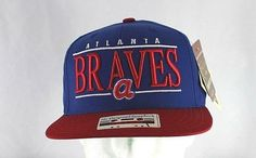 ab1782a3 Atlanta Braves Blue/Red Baseball Hat Snapback (UMLB# For more sports hats,  please check out our store.