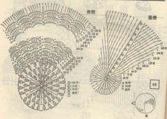 коврики крючком схема вязания - Поиск в Google