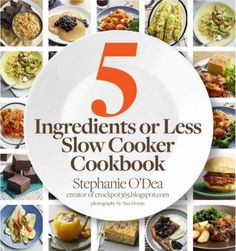 5 Ingredient Slow Cooker Recipe Book