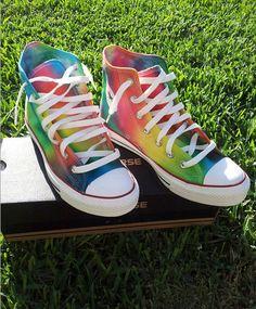 zapatillas coloridas