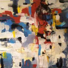 """Saatchi Art Artist Magdalena Krzak; Painting, """"Paris"""" #art"""