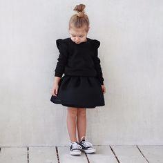 Skirt + sweatshirt by Miko kids
