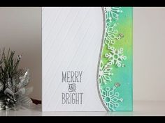 Clean and Simple Christmas Card