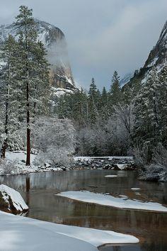 Mirror Lake, Yosemite National Park; photo by Bernard Chen