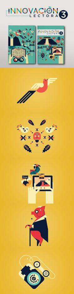 Innovación Lectora Secundaria 3 by Cherry Bomb Design Studio. #editorialdesign #layoutinspiration #illustration