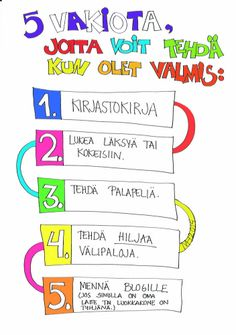 Viisi vakiota, joita voit tehdä, kun olet valmis. Class Management, Classroom Management, Learning Activities, Teaching Ideas, School Holidays, Lesson Plans, Behavior, How To Plan, Education