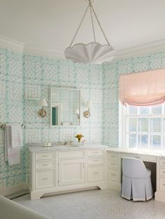 Lyford Trellis wallpaper by China Seas from Quadrille