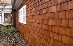 Cedar Shingles Create Quite The Outdoor Style If We Ever Build Our Own Hou
