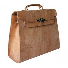 100% Organic Handbag! Natural Cork Handbag