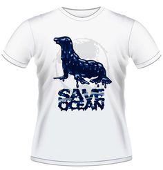 Save the Ocean | Seal - Men's T-shirt