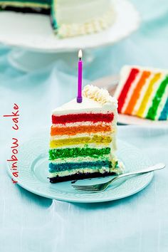 tęczowy tort (rainbow cake) - now how do i make the cream/frosting lactose-free for the allergic kiddos?