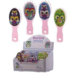 Shop today for Cute Kids Owl Design PVC Hair Brush by weeabootique !
