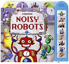 Noisy Robots (Usborne Noisy Board Books) (Noisy Books)