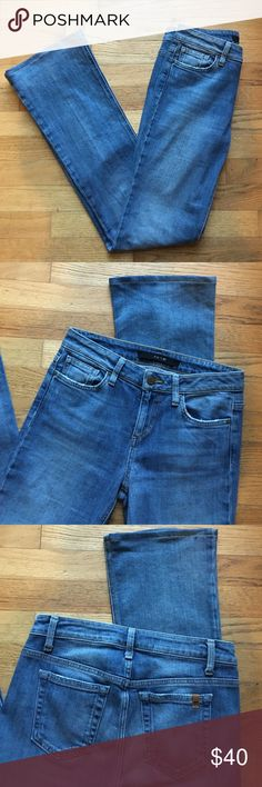 Joe's Jeans petite bootcut jeans Bootcut and flare jeans are super on trend this season! EUC. 99% cotton, 1% elastane. 32 inch inseam, 31 inch waist. Joe's Jeans Jeans Boot Cut
