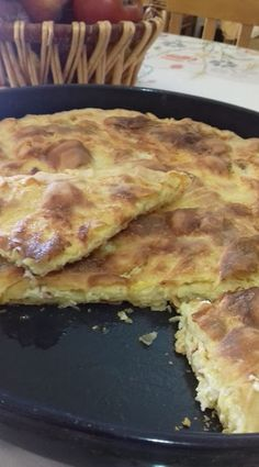 Oven Chicken Recipes, Cooking Recipes, Greek Meze, Greek Recipes, Tart, Food And Drink, Pie, Brunch, Meals