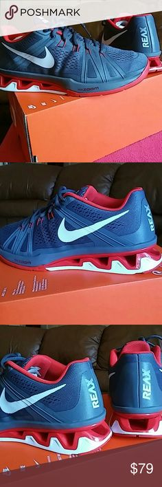 Brand New Nike Reax Lightspeed MEN Size 9 WOMEN SIZE 10.5 and 11...Brand New in the box but missing the top of the box. Nike Shoes Sneakers