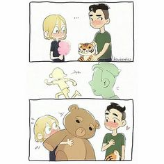 YURIO IS SO ADORABLE I CANT
