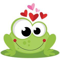 Frog in Love SVG scrapbook cut file cute clipart files for silhouette cricut pazzles free svgs free svg cuts cute cut files