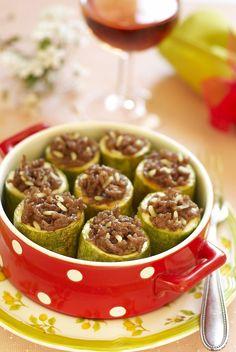 Idea per una cena creativa: zucchine ripiene di #riso fragrant e #seitan #ricettesalutari #benessere