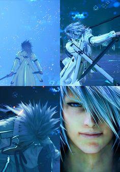 Final Fantasy Characters, Final Fantasy Vii Remake, Ff Game, Tetsuya Nomura, Yoshitaka Amano, Ferrari Logo, Video Game, Character Design, Illustration
