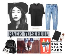 """back to school,back to basic with normcore trend"" by lee-st on Polyvore"