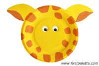Step 5 Paper Plate Animals craft