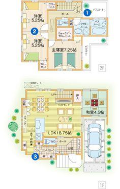 キッチンと玄関をつなぐ土間にたっぷり収納できるコンビニエンスクロークのある住まい。   間取りプラン検索 京阪神、京阪沿線で育みデザインの一戸建てを展開する ...