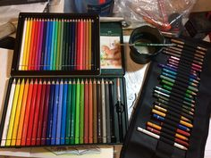 https://flic.kr/p/PFgk3L | My set of Faber Castell Albrecht Durer Magnus watercolor pencils just arrived | Blog entry.